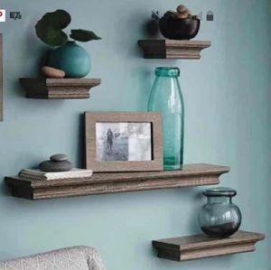 Hearth & Hand Wall Shelf Set with Matching Frames
